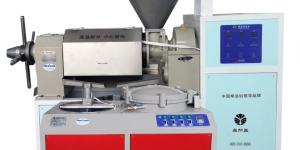 「山茶油榨油机整套设备价格」YJY-Z350型榨油机(盘式)插图